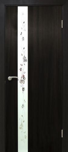 Дверне полотно Дзеркало 800 мм венге  2032 грн